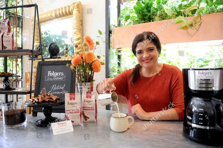 Editorial picture of Folgers Simply Gourmet Real Barista Event, New York, USA - 19 Sep 2017