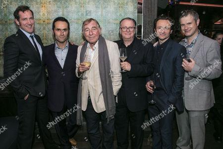 Bertie Carvel (Rupert Murdoch), Rene Zagger (Ray Mills), Geoffrey Freshwater (Sir Alick), Tony Turner (Frank Nicklin), Justin Salinger (Brian McConnell) and Oliver Birch (Gerard Croiset)