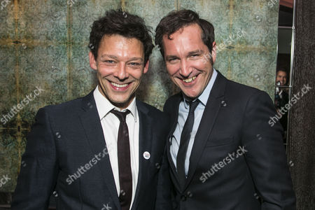 Richard Coyle (Larry Lamb) and Bertie Carvel (Rupert Murdoch)