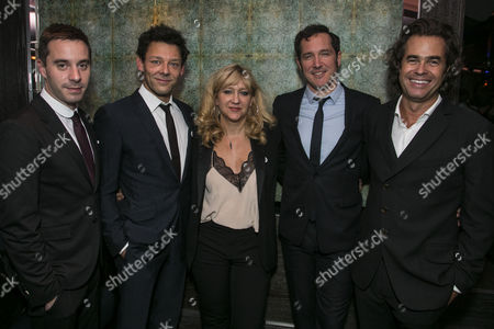James Graham (Author), Richard Coyle (Larry Lamb), Sonia Friedman (Producer), Bertie Carvel (Rupert Murdoch) and Rupert Goold (Director)