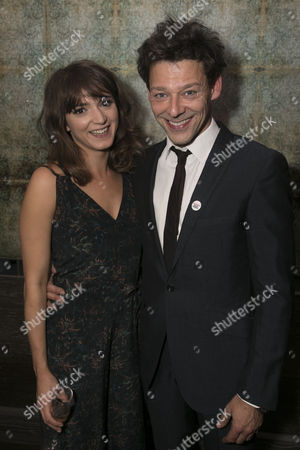 Pearl Chanda (Stephanie Rahn) and Richard Coyle (Larry Lamb)