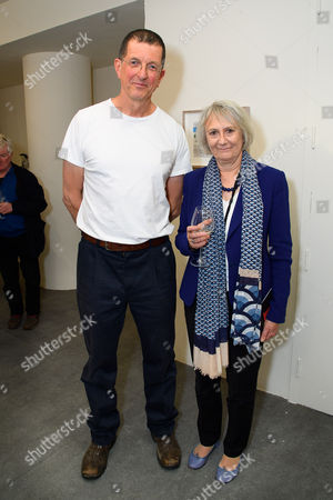Stock Photo of Sir Antony Gormley and Dame Anne Owers