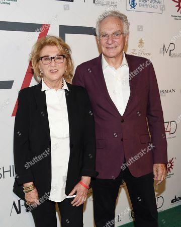 Sybil Kleinrock, David Yurman. Sybil Kleinrock, left, and David Yurman