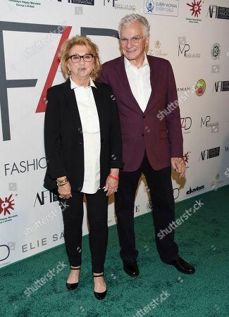 Stock Picture of Sybil Kleinrock, David Yurman. Sybil Kleinrock, left, and David Yurman