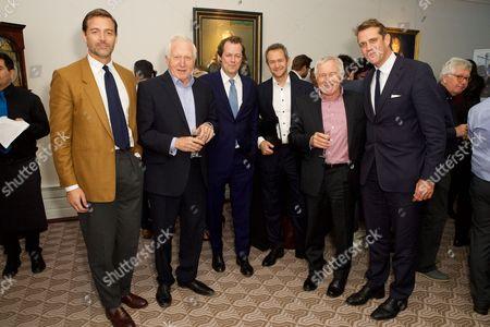 Patrick Grant, David Dimbleby, Tom Parker Bowles, Alexander Armstrong, Jonathan Dimbleby and Ben Elliot