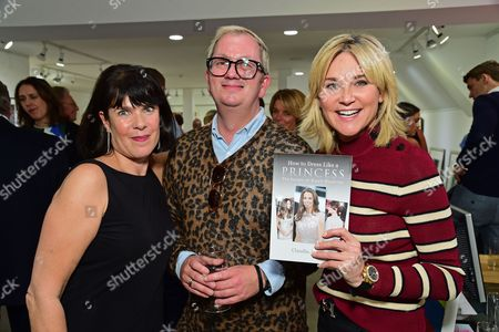 Claudia Joseph, Perry Reynolds and Anthea Turner