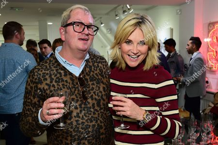Perry Reynolds and Anthea Turner