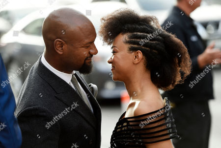 "Sonequa Martin-Green, Kenric Green. Sonequa Martin-Green, right, a cast member in ""Star Trek: Discovery,"" arrives with her husband, actor Kenric Green, at the premiere of the new television series, in Los Angeles"