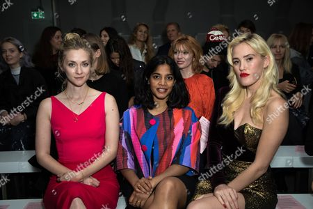 Stock Picture of Portia Freeman, Amara Karan and Betsy in the front row