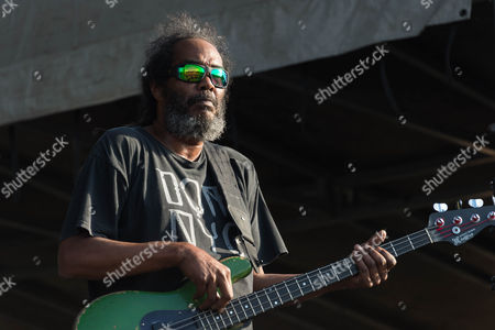 Darryl Jenifer from the band Bad Brains