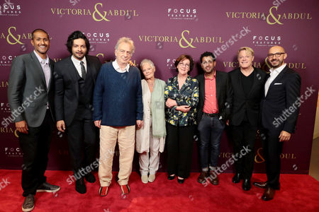 Abhijay Prakash, Chief Operating Officer, Focus Features, Ali Fazal, Stephen Frears, Director, Judi Dench, Consolata Boyle, Costume Designer, Adeel Akhtar, Eddie Izzard, Peter Kujawski, Chairman, Focus Features,