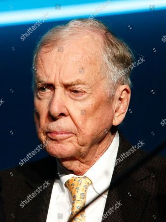 Stock Photo of T. Boone Pickens