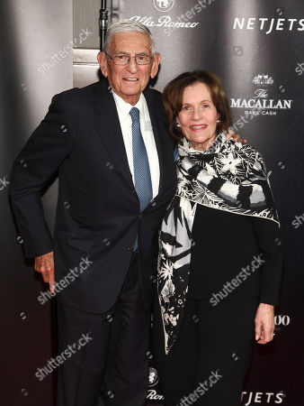 Stock Picture of Eli Broad, Edythe Broad. Eli Broad, left, and Edythe Broad, right,