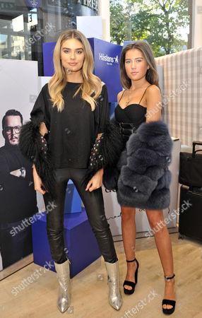 Claudia Valentina and Chloe Lloyd