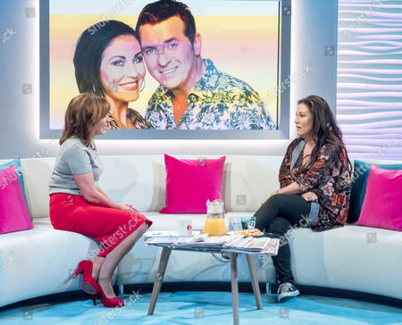Lorraine Kelly and Jessie Wallace