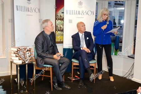 Editorial image of Dylan Jones Book Launch at William & Son store, London, UK - 19 Sep 2017
