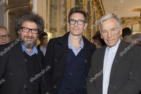 Claude Miller, Serge Hazanavicius and Costa-Gavras.