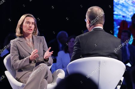 Editorial photo of Bloomberg Global Business Forum, New York, USA - 20 Sep 2017