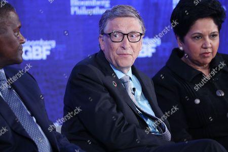 Bill Gates and Indra Nooyi
