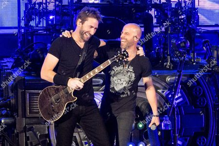 Nickelback - Chad Kroeger and Chris Daughtry