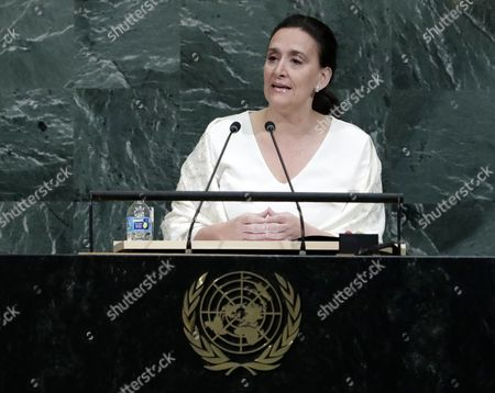 Editorial image of United Nations General Assembly, New York, USA - 20 Sep 2017