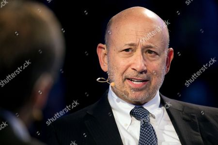 Goldman Sachs chairman and CEO Lloyd Blankfein speaks at the Bloomberg Global Business Forum, in New York