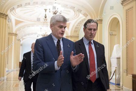 Bill Cassidy and Rick Santorum