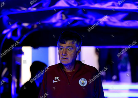 Manchester City assistant Brian Kidd exits the tunnel at The Hawthorns