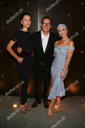 Michela Meazza, Sir Matthew Bourne and Ashley Shaw