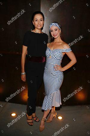 Michela Meazza and Ashley Shaw