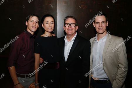 Dominic North, Michela Meazza, Sir Matthew Bourne and Sam Archer