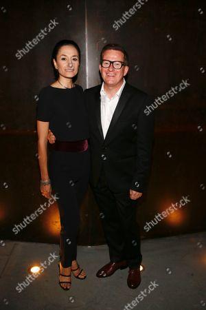 Michela Meazza and Sir Matthew Bourne