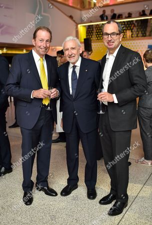 John Gildersleeve, Sir John Sorrell and Chris Grigg