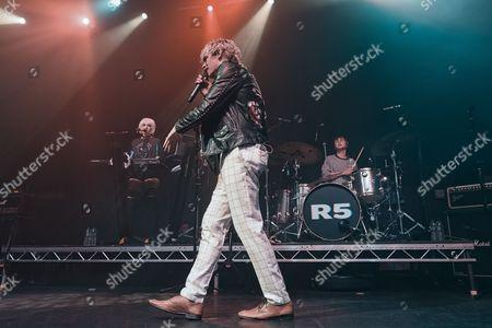 Stock Photo of R5 - Rydel Lynch, Ross Lynch, Ellington Ratliff