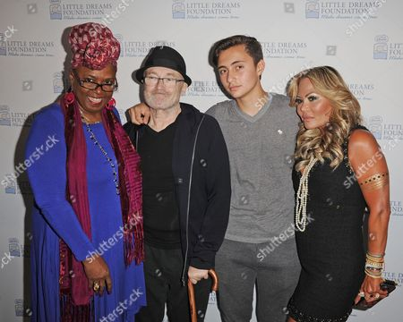Betty Wright, Phil Collins, Nic Collins, Orianne Collins