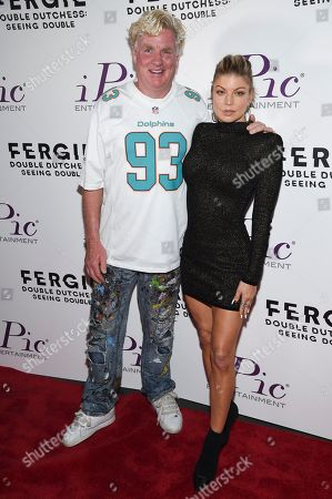 """Editorial picture of NY Premiere of Fergie's """"Double Dutchess: Seeing Double"""" Video, New York, USA - 20 Sep 2017"""