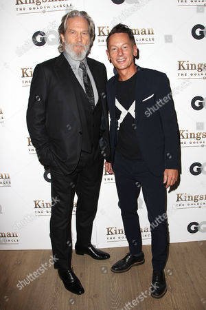 Jeff Bridges and Jim Nelson (Editor-In-Chief; GQ)