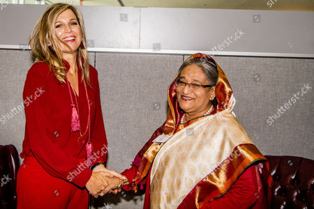Editorial image of Queen Maxima at UN General Assembly, New York, USA - 20 Sep 2017