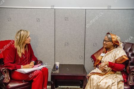 Queen Maxima, Sheikh Hasina Wajed