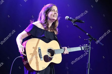 "Artist and songwriter Lori McKenna performs ""Humble and Kind"" at the Nashville Songwriters Association International ""50 Years of Songs"" at the Ryman Auditorium on in Nashville, Tenn"