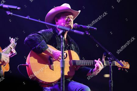 """Songwriter Paul Overstreet performs at the Nashville Songwriters Association International """"50 Years of Songs"""" at the Ryman Auditorium on in Nashville, Tenn"""