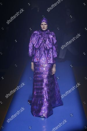 Stock Picture of Leah Rodl on the catwalk