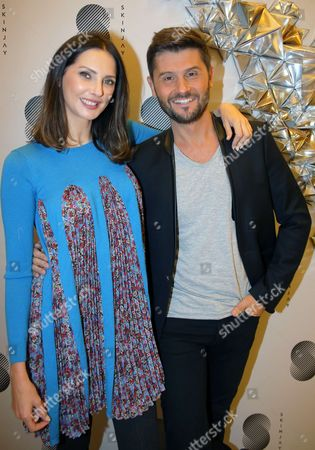 Christophe Beaugrand and Frederique Bel