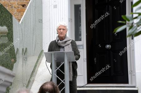Editorial photo of Unveiling of Rudolf Nureyev Blue Plaque at 27 Victoria Road, Kensington, London, UK - 21 Sep 2017