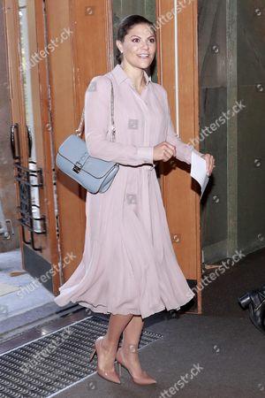 Stock Image of Crown Princess Victoria