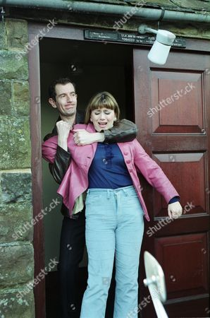 Carl Cieka (as Brian Tranter) and Tricia Penrose (as Gina Ward)