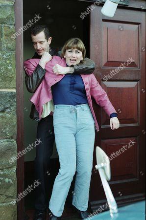 Carl Cieka (as Brian Tranter) and Tricia Penrose (as Gina Ward)