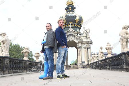 Erdogan Atalay (Semir Gerkhan) and Daniel Roesner (Paul Renner)