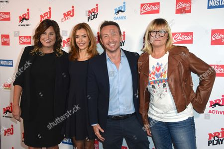 Editorial picture of NRJ Group media conference, Paris, France - 21 Sep 2017