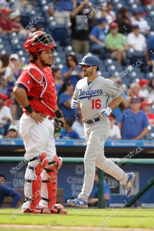 Los Angeles Dodgers' Andre Ethier in action during a baseball game against the Philadelphia Phillies, in Philadelphia